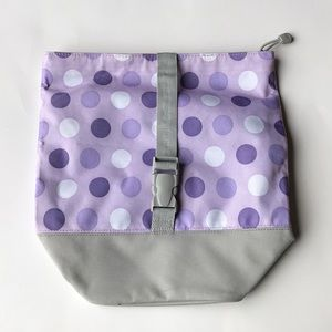 Compact pottery barn kids collapsible lunch bag